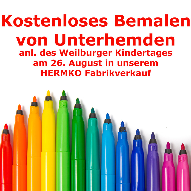 Kindertag am 26.08.2017 in Weilburg
